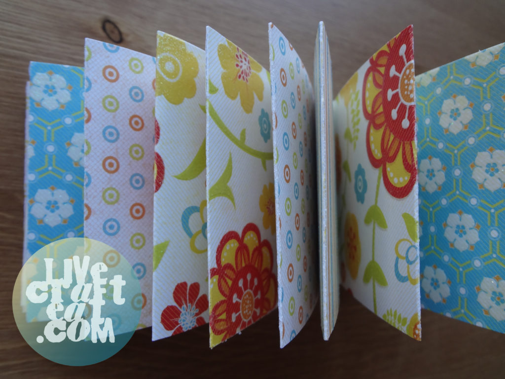 matchbook notebook craft tutorial