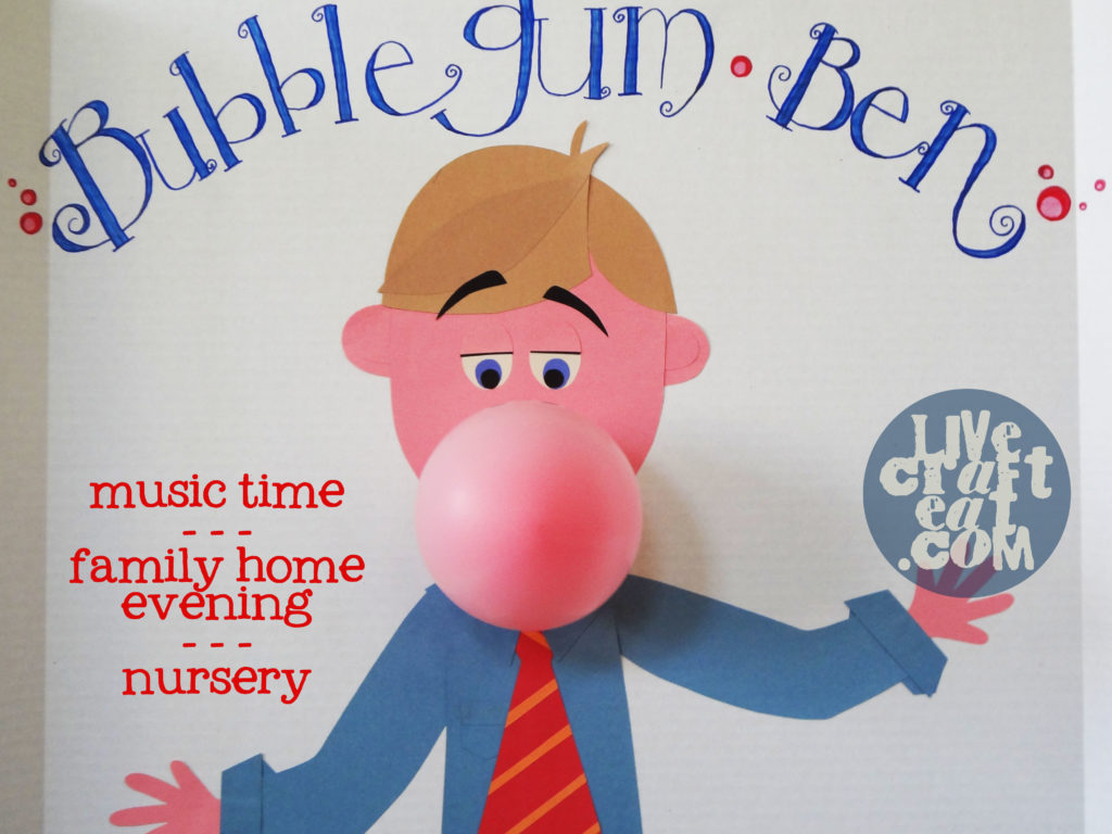 how to make bubble gum balloon