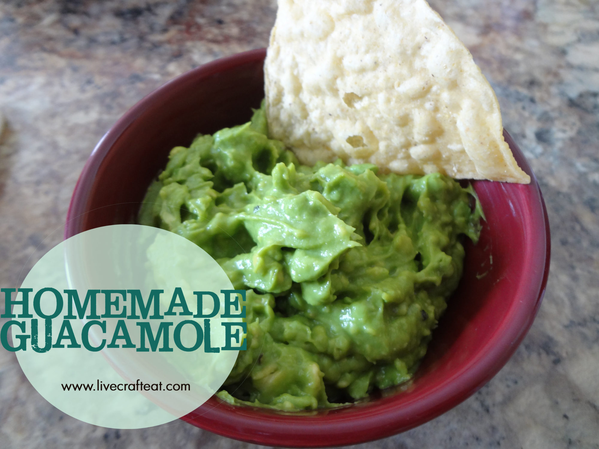 ... make our own guacamole instead of buying it already made at the store