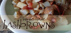 homemade breakfast hash browns recipe