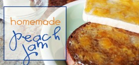 peach week – homemade peach jam