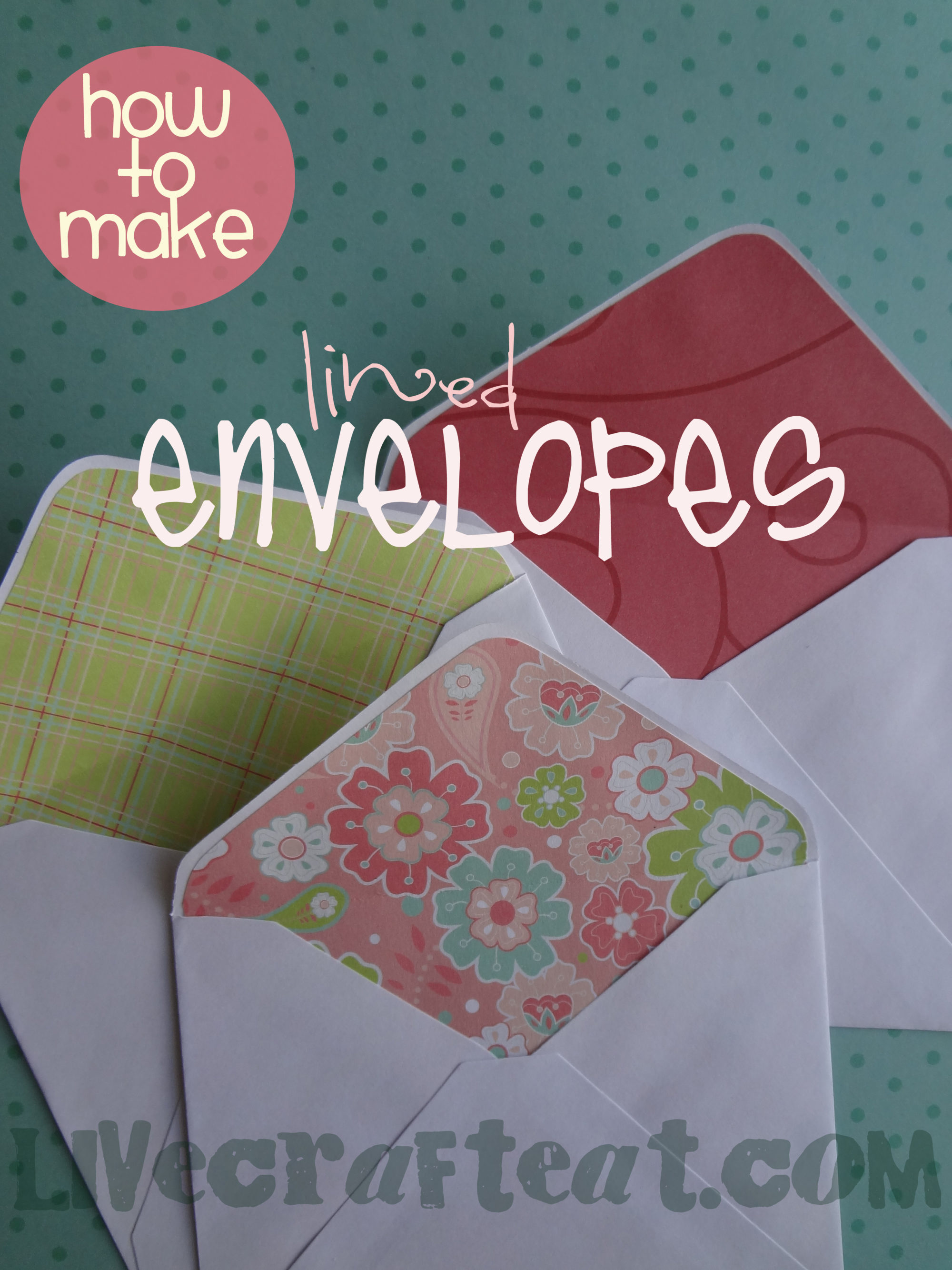 how to make paper envolops
