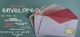 how to: make lined envelopes (the easy way!)