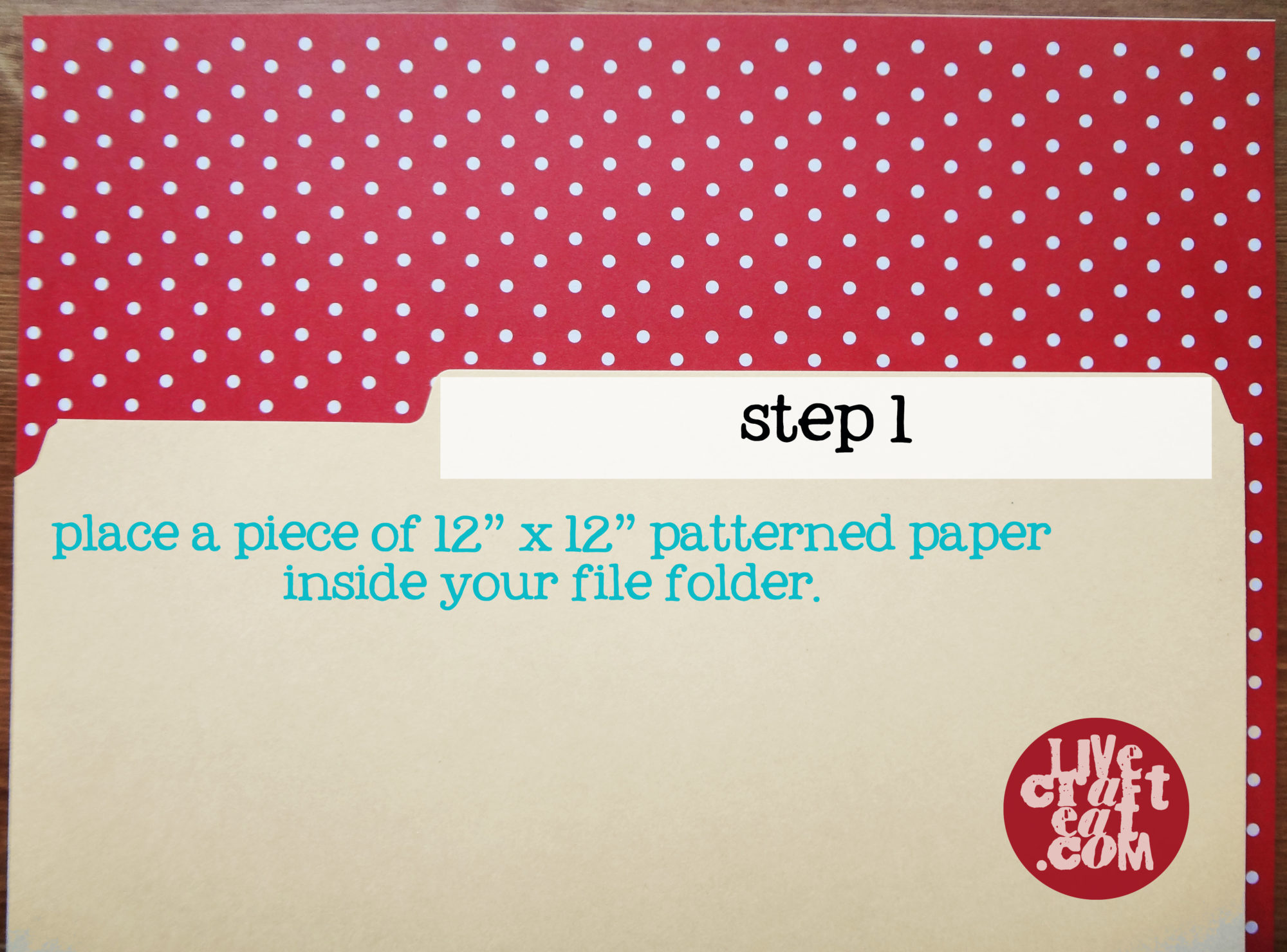 how to make folder with paper