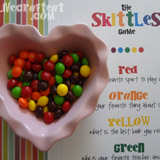 skittles ice breaker game