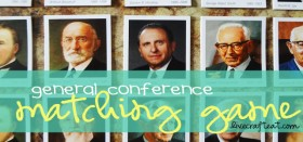 general conference matching game — latter-day prophets