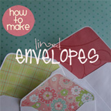 lined envelopes tutorial