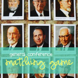 lds prophets matching game