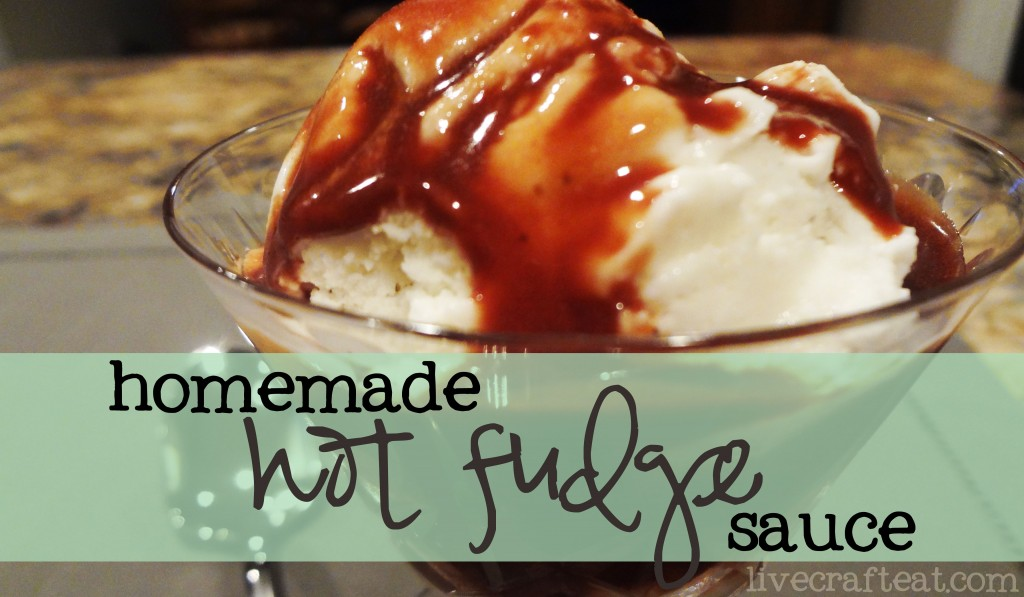 Homemade Hot Fudge Sauce & Chocolate Syrup Recipe | Live Craft Eat