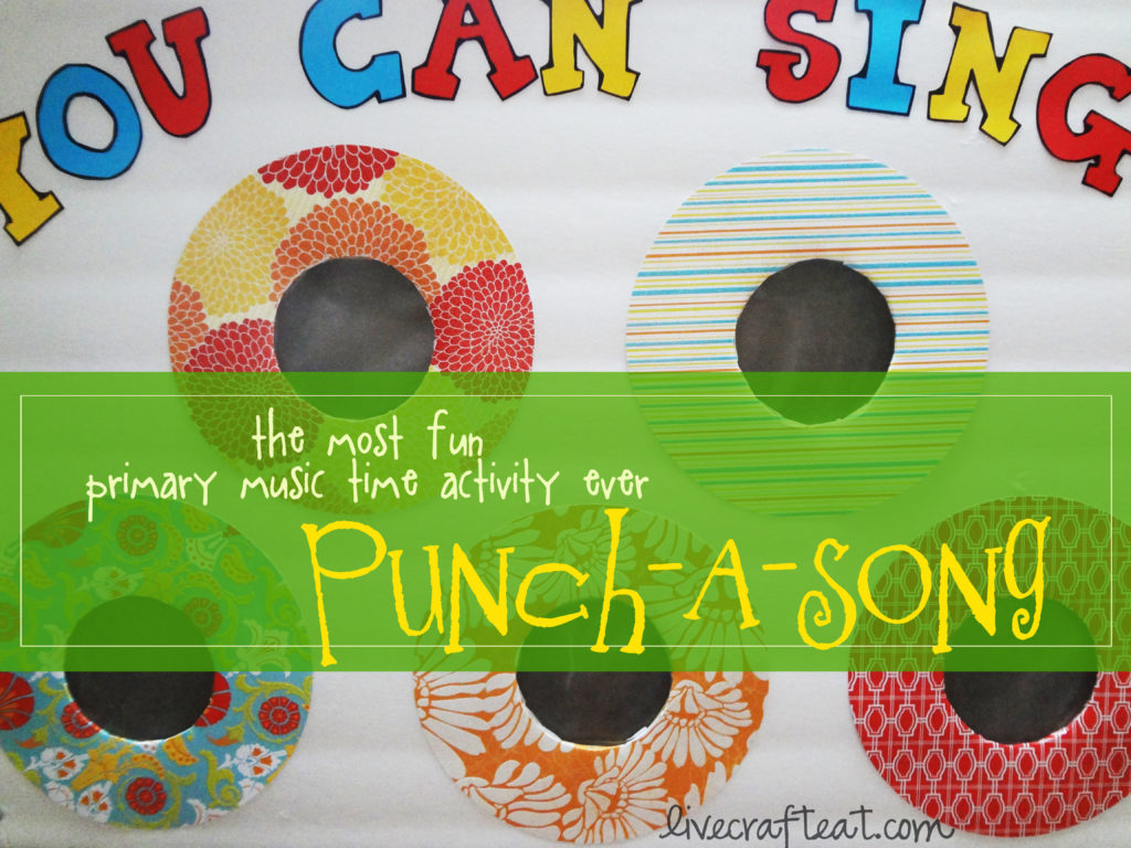 punch-a-song game for kids