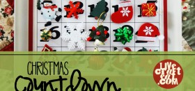 how to make a cookie sheet christmas countdown