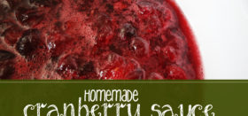 how to: make cranberry sauce with fresh cranberries
