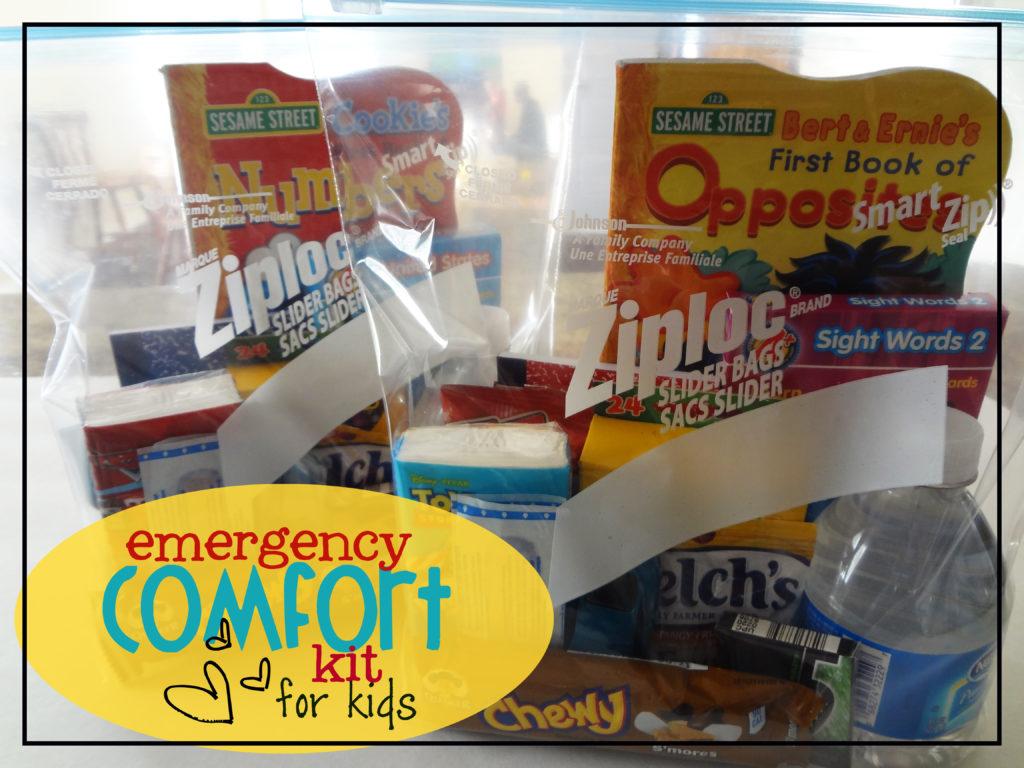 comfort kit for children