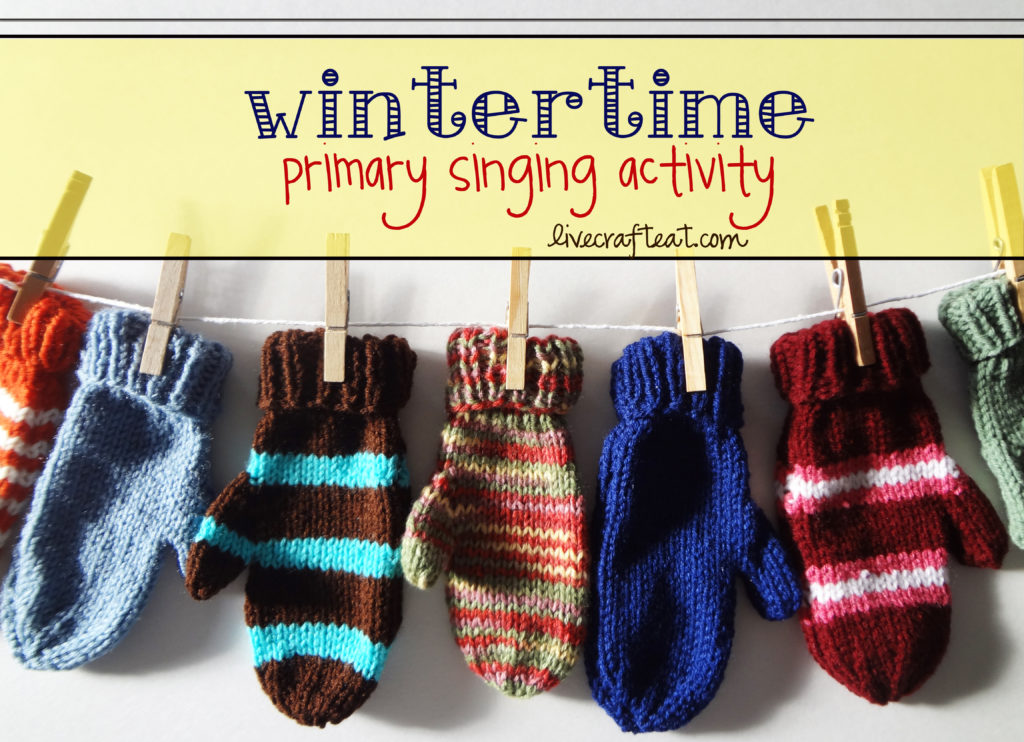 mitten music time activity