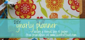 yearly planner 2013