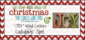 on the 4th day of christmas {giveaway series}