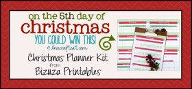 on the 5th day of christmas {giveaway series}