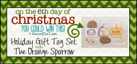 on the 6th day of christmas {giveaway series}
