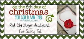 christmas baby headbands