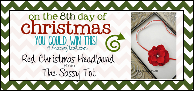 christmas baby headbands