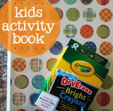 kids diy dry erase book