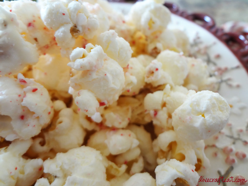 candy cane popcorn recipe