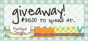 prettiful designs giftcard {giveaway}