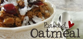 baked oatmeal (via Our Best Bites)