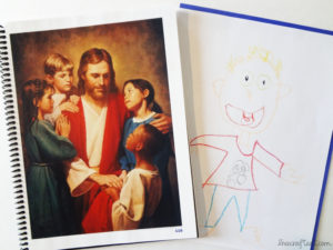 picture of jesus christ and children