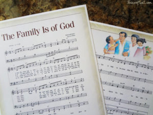 our father has a family - it's me...lds primary song
