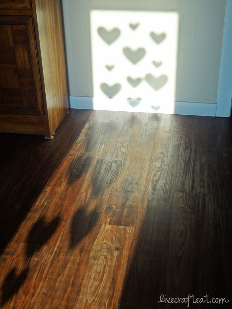 heart shadows