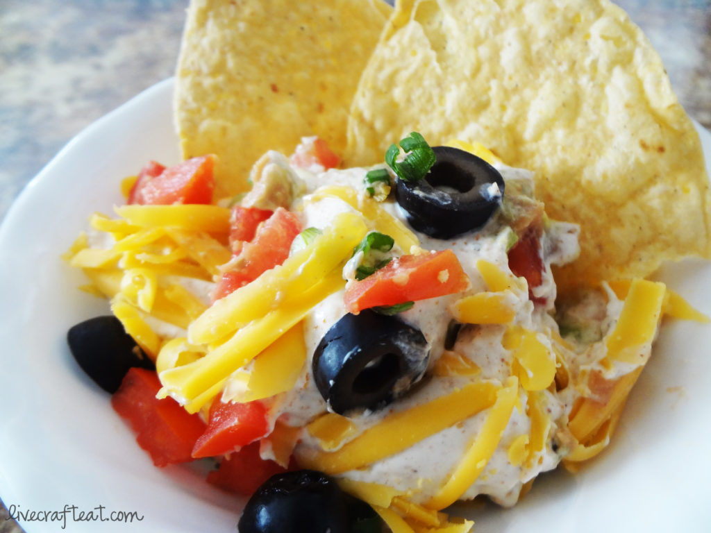 tortilla chip dip recipe