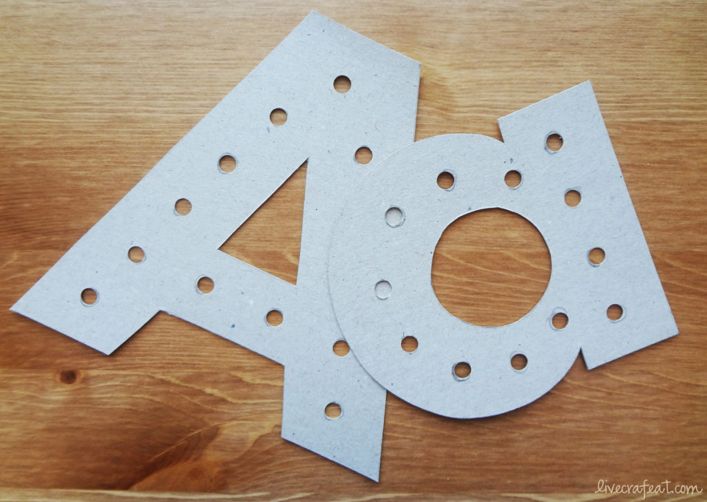 how to make alphabet lacing cards for kids