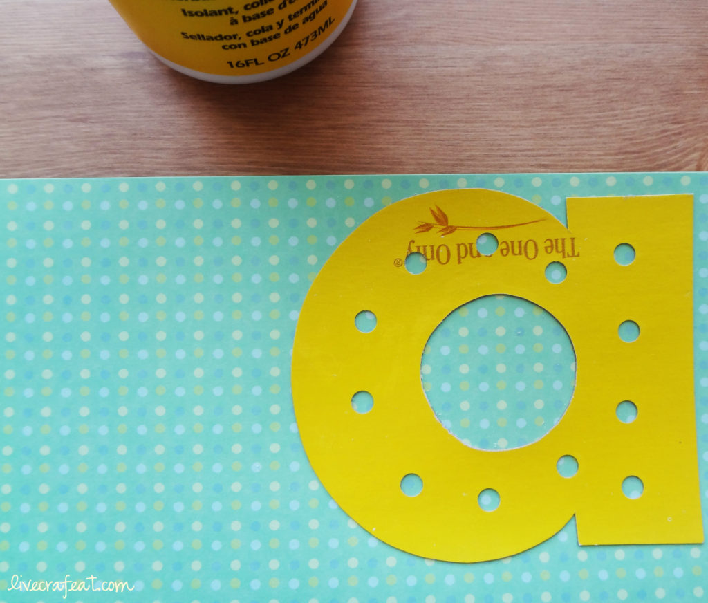 how to make diy lacing cards