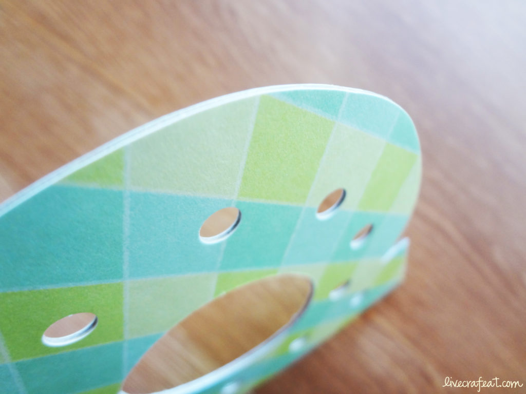 how to make good lacing cards for kids