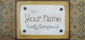 extended family scrapbook