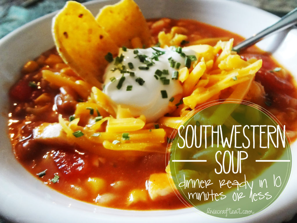 food storage southwestern soup recipe