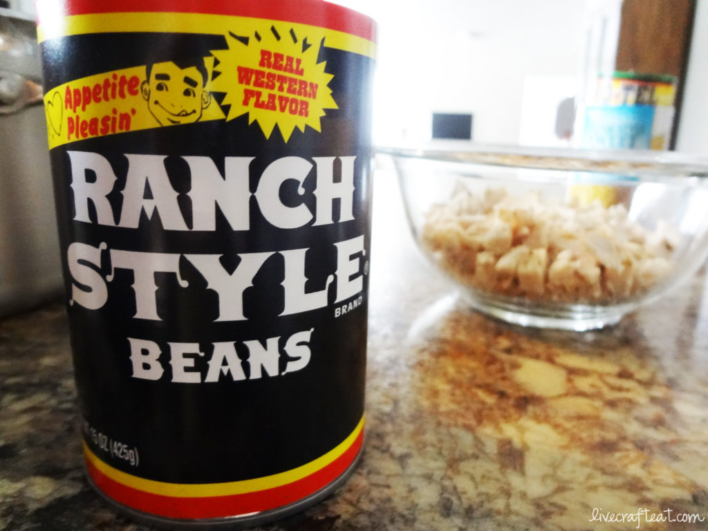 southwestern soup with ranch style beans