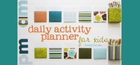 daily activity planner for kids