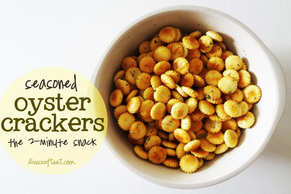 seasoned crackers recipe