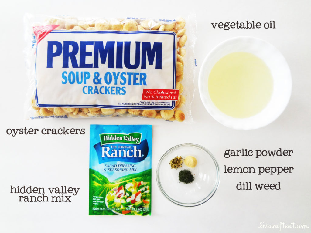 ranch crackers recipe
