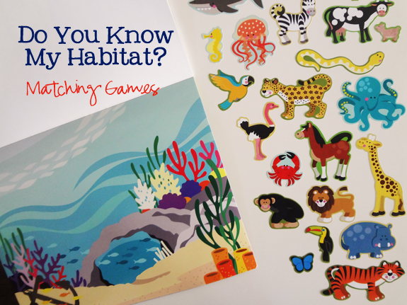do you know my habitat - matching games - main image