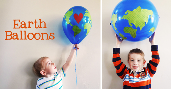 earth balloons