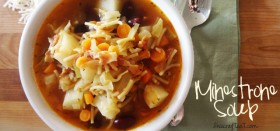 my favorite minestrone soup recipe