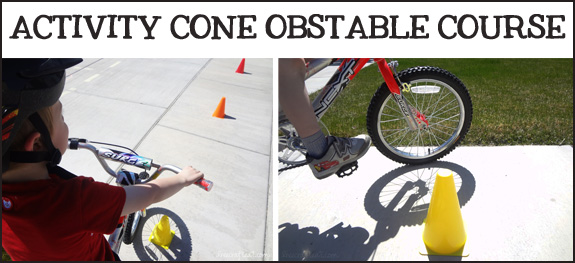 activity cone obstacle course