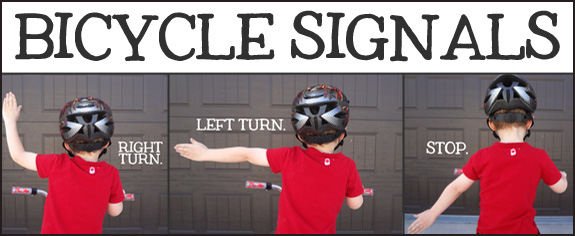 all three bicycle signals