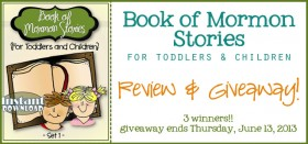 the book of mormon for toddler & kids :: review and giveaway!!
