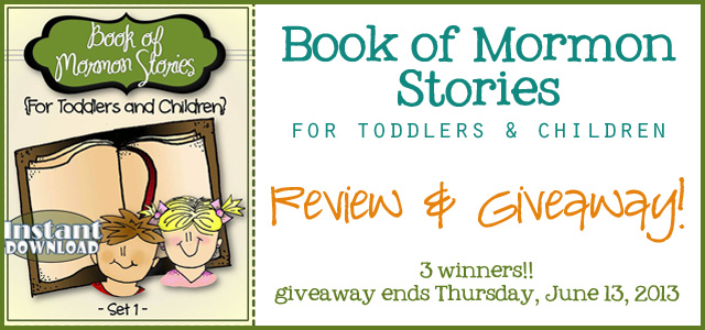 book of mormon stories for toddlers and children