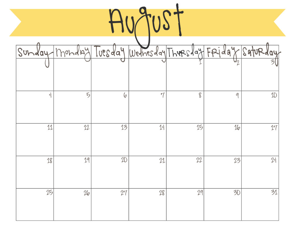 to print your free august calendar, click here . have a happy end-of ...