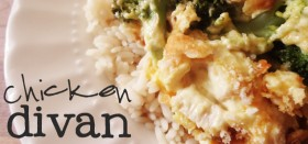 easy weeknight dinner :: chicken divan